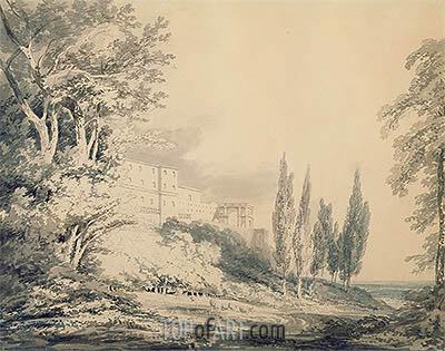 Villa d'Este, c.1796 | J. M. W. Turner | Gemälde Reproduktion