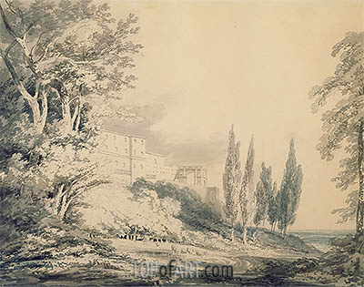 J. M. W. Turner | Villa d'Este, c.1796