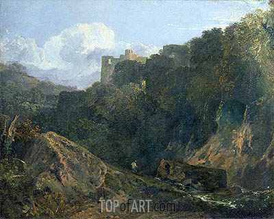 Cillgerren Castle, c.1798/99 | J. M. W. Turner | Painting Reproduction