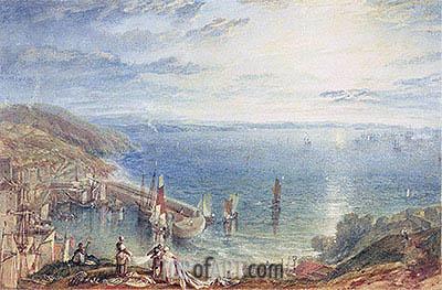J. M. W. Turner | Torbay from Brixham, c.1816/17