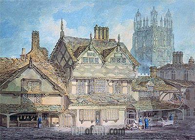 J. M. W. Turner | Wrexham, Denbighshire, c.1792/93