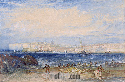 Margate, c.1822 | J. M. W. Turner| Painting Reproduction