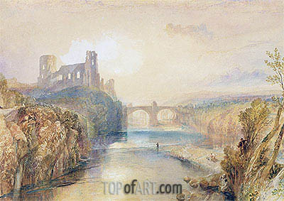 Barnard Castle, undated | J. M. W. Turner | Painting Reproduction
