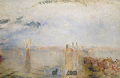 Returning from the Ball (St Martha), c.1846 | J. M. W. Turner | Painting Reproduction