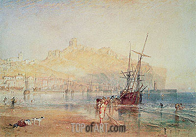 Scarborough, 1825 | J. M. W. Turner | Painting Reproduction
