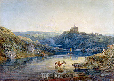 Norham Castle, Summer's Morning, 1798 | J. M. W. Turner| Painting Reproduction