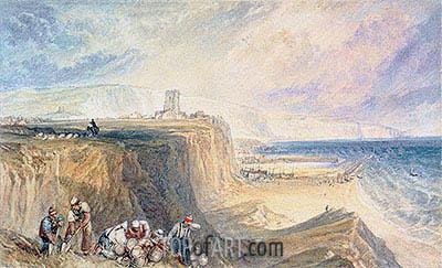 J. M. W. Turner | Folkestone, Kent, c.1822