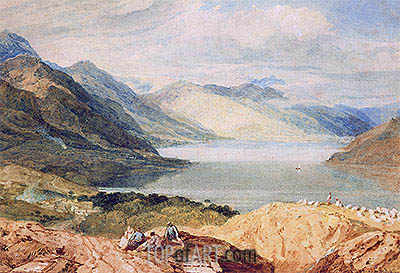 Loch Lomond, undated | J. M. W. Turner| Painting Reproduction