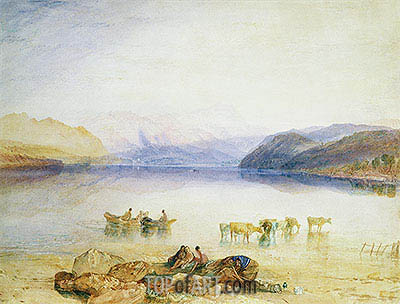 Ullswater, Cumberland, c.1835 | J. M. W. Turner| Painting Reproduction