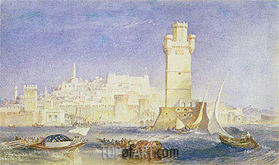 Rhodes, c.1823/24 | J. M. W. Turner | Painting Reproduction