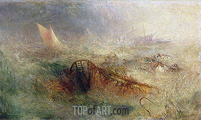 The Storm, c.1840/45 | J. M. W. Turner | Painting Reproduction