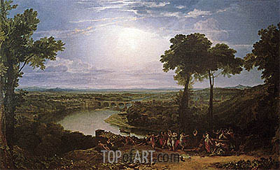 The Festival of the Opening of the Vintage, Macon, undated | J. M. W. Turner | Painting Reproduction