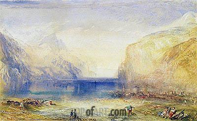 J. M. W. Turner | Fluelen: Morning, 1845