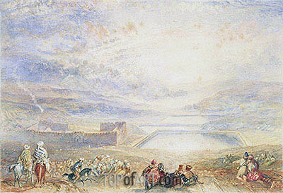 Pools of Solomon, c.1833/36 | J. M. W. Turner| Painting Reproduction
