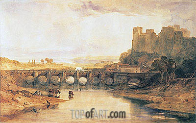 Ludlow Castle, 1800 | J. M. W. Turner | Painting Reproduction