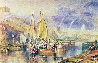 Nottingham, undated | J. M. W. Turner| Painting Reproduction