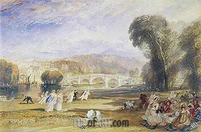 J. M. W. Turner | Richmond Hill and Bridge, Surrey, c.1831