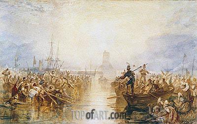 J. M. W. Turner | Saint-Vaast-La-Hougue, Normandy, undated