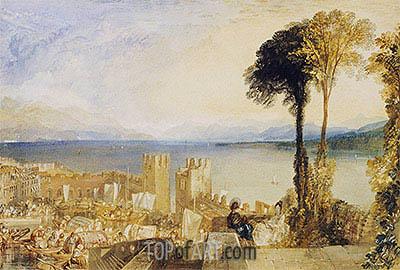J. M. W. Turner | Arona, Lago Maggiore, undated