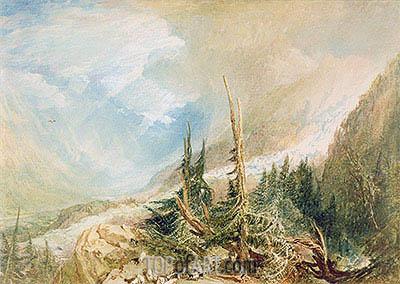 J. M. W. Turner | Valley of Chamouni, c.1808