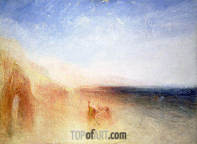 Europa and the Bull, c.1840/50 | J. M. W. Turner| Painting Reproduction