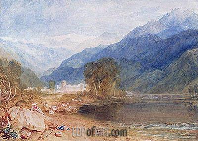 J. M. W. Turner | Bonneville, Savoy, undated