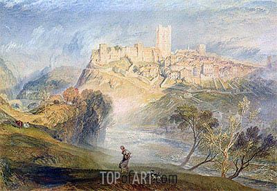 J. M. W. Turner | Richmond, Yorkshire, undated