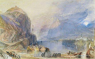J. M. W. Turner | The Drachenfels, Germany, c.1823/24
