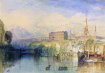 Exeter, c.1827 | J. M. W. Turner| Painting Reproduction