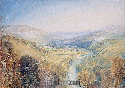 Buckfastleigh Abbey, Devonshire, undated | J. M. W. Turner| Painting Reproduction