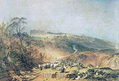 Eridge Castle, East Sussex, undated | J. M. W. Turner| Painting Reproduction