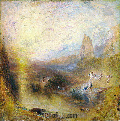 Glaucus and Scylla, 1841 | J. M. W. Turner| Painting Reproduction
