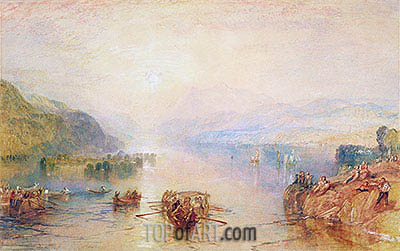 Windermere, Westmorland, undated | J. M. W. Turner | Painting Reproduction