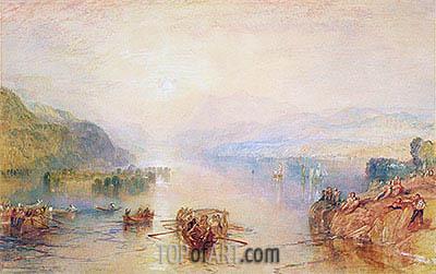 J. M. W. Turner | Windermere, Westmorland, undated