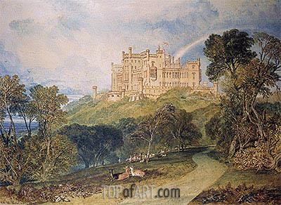 J. M. W. Turner | View of Belvoir Castle, 1816