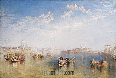 Giudecca, La Donna della Salute and San Giorgio, undated | J. M. W. Turner| Painting Reproduction