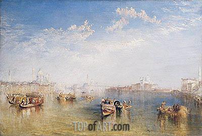 Giudecca, La Donna della Salute and San Giorgio, undated | J. M. W. Turner | Painting Reproduction