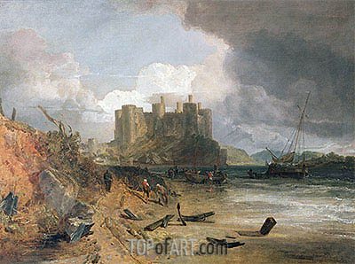 Conway Castle, c.1802/03 | J. M. W. Turner| Painting Reproduction
