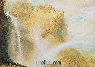 J. M. W. Turner | Upper Falls, Reichenbach , c.1802
