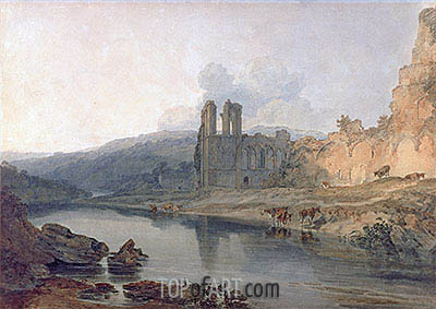 St Agatha's Abbey, Easby, undated | J. M. W. Turner| Painting Reproduction