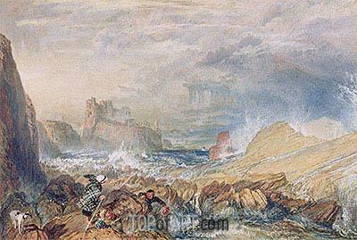 Tantallon Castle, 1821 | J. M. W. Turner | Painting Reproduction