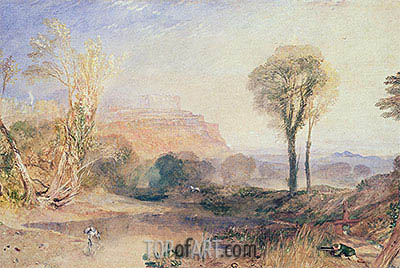 Powis Castle, Montgomeryshire, c.1835 | J. M. W. Turner | Painting Reproduction