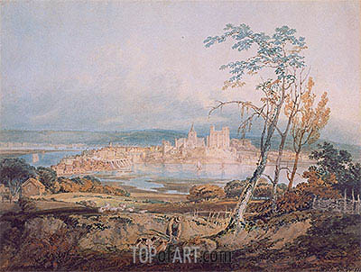 Rochester, Kent, 1795 | J. M. W. Turner| Painting Reproduction