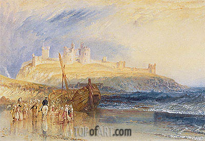 Dunwich, Suffolk, c.1827 | J. M. W. Turner| Painting Reproduction
