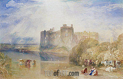 Carew Castle, Pembroke, c.1832 | J. M. W. Turner | Painting Reproduction