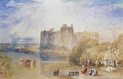 Carew Castle, Pembroke, c.1832 | J. M. W. Turner | Gemälde Reproduktion