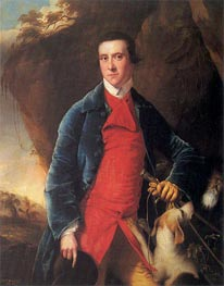 Portrait of Francis Noel Clarke Mundy, c.1762/63 by Wright of Derby | Painting Reproduction
