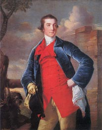 Portrait of Harry Peckham, c.1762/63 by Wright of Derby | Painting Reproduction