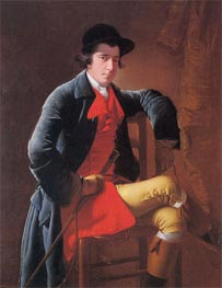 Portrait of Nicholas Heath, c.1762/63 by Wright of Derby | Painting Reproduction