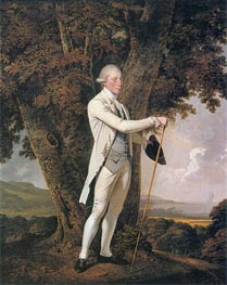 Portrait of John Milnes, 1776 by Wright of Derby | Painting Reproduction